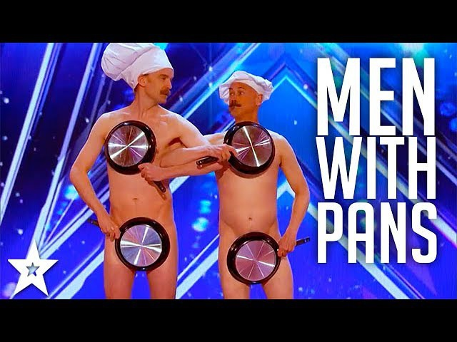 Men with Pans SHOCK the Audience | Americas Got Talent 2017