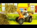 Мультфильм для детей про Трактор и Грузовик Экскаватор в Городке 2D Мультик про м