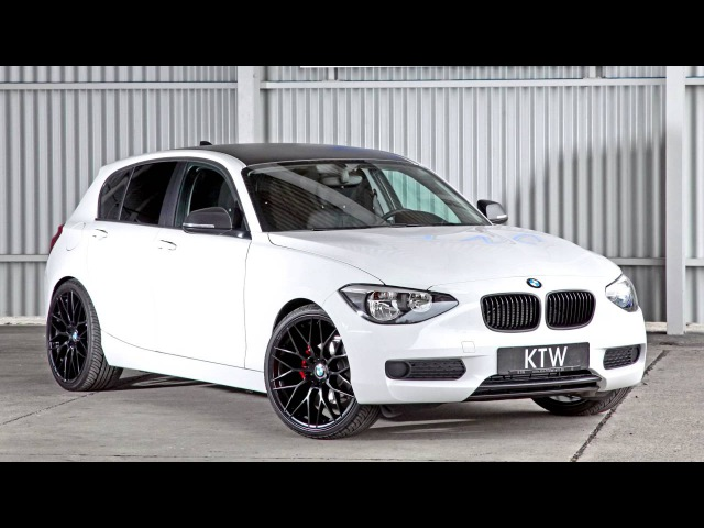 KTW Tuning BMW 116i Black White F20 2014