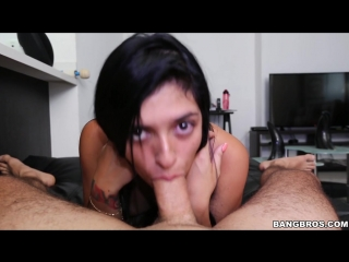 Sara Garcia (ColombiaFuckFest - BangBros - Sara Garcia Squirts on the second try - cff15713 - 20.06.17)[2017, Amateur, Blowjob
