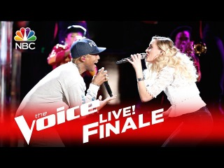"""The Voice 2016 Hannah Huston and Pharrell Williams - Finale: """"Brand New"""""""