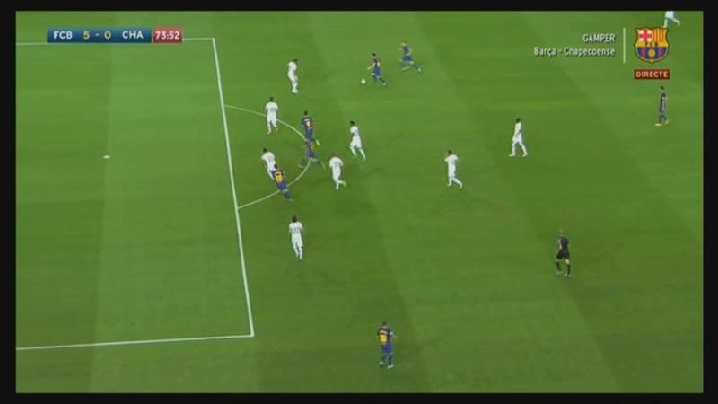Барселона 5 0 Шапекоэнсе Денис Суарес `74