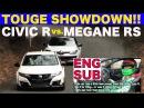【EnglishSUB】CIVIC-R vs. MEGANE RS TOUGE SHOWDOWN!!【Best MOTORing】2016