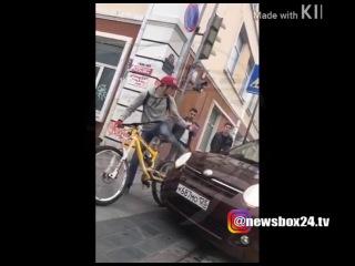 Сотрудники полиции просят откликнуться велосипедиста, которого сбил таксист