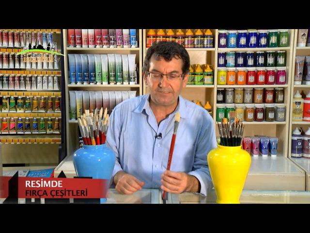 Resimde Fırça Çeşitleri _ Yunus Bircan,Matisse Sanat evi