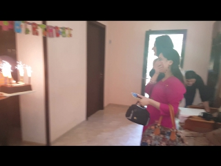 Rima shamo & nino kraveishvili & group lakshmi my birthday, thank you for the surprise ))