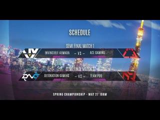 Vainglory 8 Tokyo: Invincible Armada VS ACE Gaming И1
