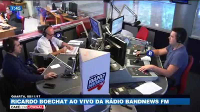 Boechat comenta áudios de vereadores de Teresópolis