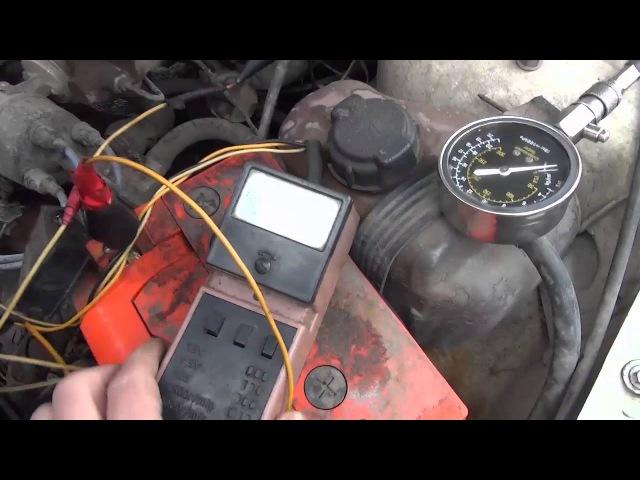 ВАЗ 2109 Двигатель ТРОИТ Или влияние ВУТ на ровную работу Двигателя