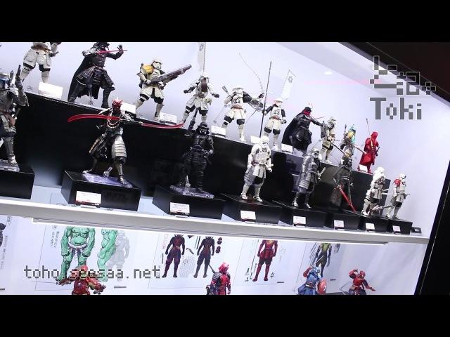 東京コミコン2017 名将MOVIE REALIZATION New item display