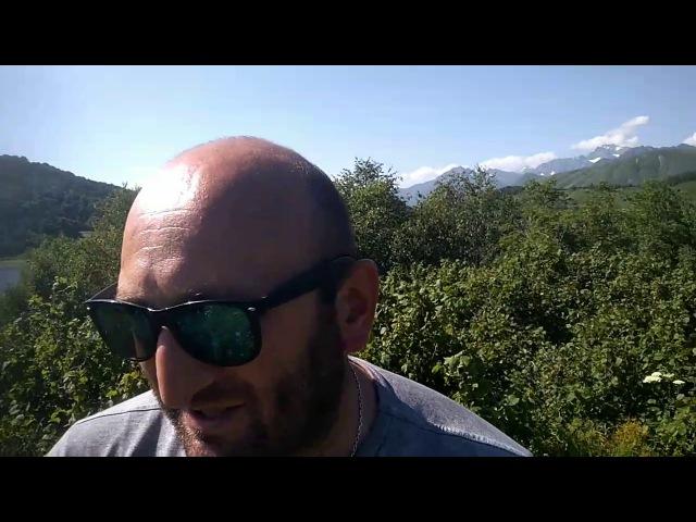 Прогулки по Осетии Алании Озеро Эрцо