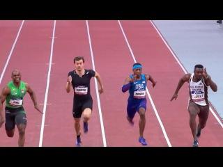 2017/02/08 Cuban sprinter beats Christophe Lemaitre & Kim Collins on 60m at Paris Indoor Meeting