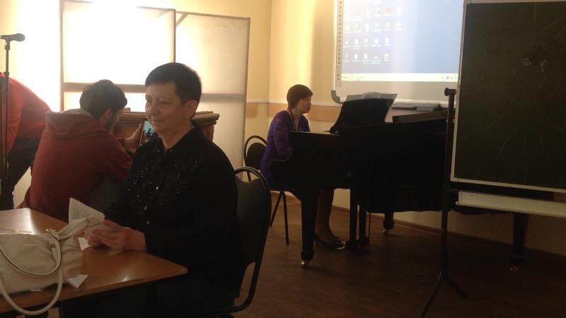 Поэт Татьяна Щепетова и композитор Наталья Смирнова Концерт в колледже культуры 4 апр 2017 г