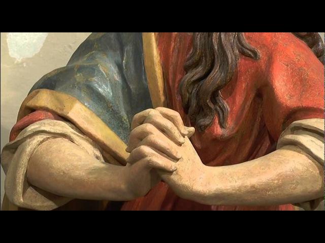 20140914 Restauro statue Fantoni Castelfranco di Rogno TG