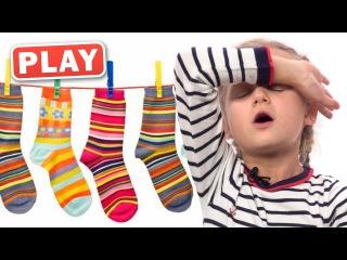 КУКУТИКИ PLAY - Злата - Играем и поем песенку  Мамопомогалочка - Kukutiki kids funny song