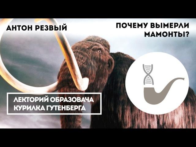 Антон Резвый Почему вымерли мамонты