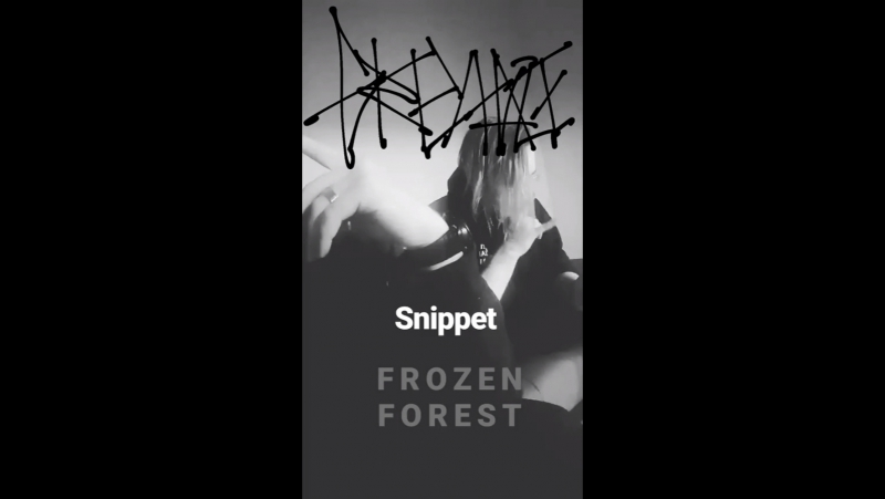 G R E Y H A Z E Frozen Fore$t snippet