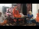 Встреча с Сат Гуру Свами Пармананд Джи Махараджи в ашраме в Харидваре