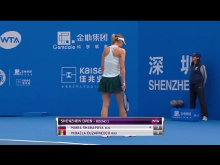 And Maria Sharapova breaks right back! Back on serve in the first set. #ShenzhenOpen