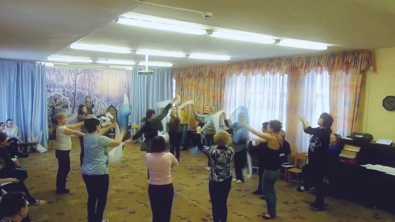 Буренина Анна Иосифовна семинар практикум танец к празднику
