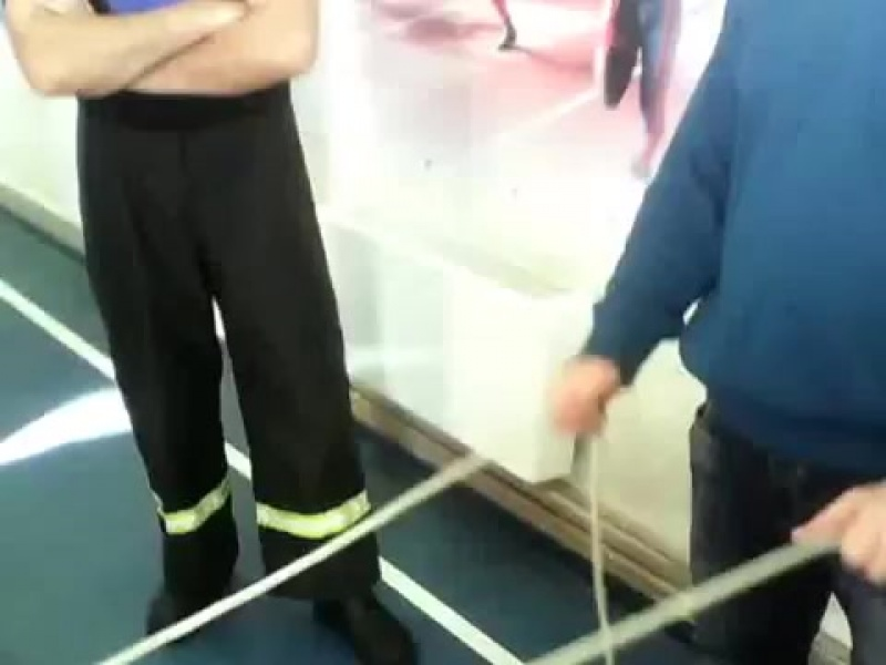 Вязка узлов пожарных. Пожарные узлы. Пожарный узел 3 способ