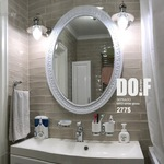 Зеркало в овальной раме  MR3