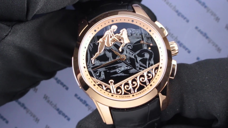Ulysse Nardin's Erotic Watches Show Link Between Sex And New Technologies