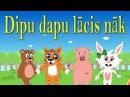 Dipu Dapu Dācis Nāk   Bērnu dziesmas   Animal Dancing Song in Latvian   Латышская детская песня