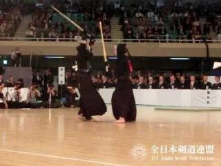 SlowMotion - KATSUMI's M (vs MIYAMOTO) - 64th All Japan KENDO Championship - Semi final 62