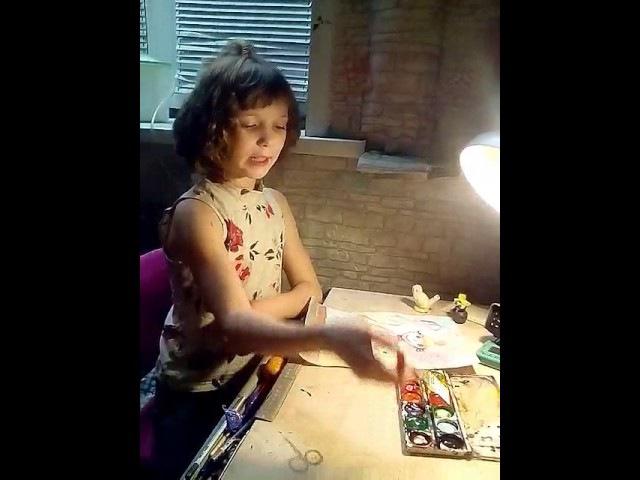 Алиса Курчева Чтение стихотворения Ю Мориц Волшебный портрет