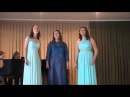 Трио Девушек из оперетты Сто чертей и одна девушка Т Хренников