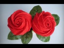 ABC TV | How To Make Rose Paper Flower From Crepe Paper - Origami Craft Tutorial