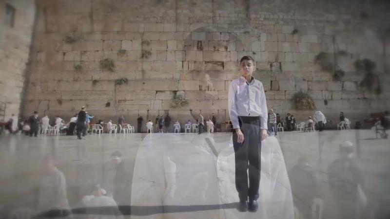 פרחי ירושלים הסולן נתן יונייב מילים ולחן חנן אביטל השיר לגעת באור צולם בכותל המערבי ירושלים
