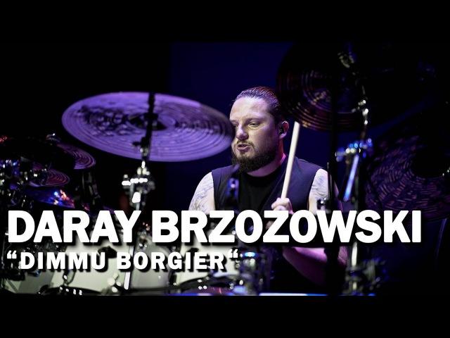 Meinl Cymbals Daray Brzozowski DIMMU BORGIR Meinl Drum Festival Video