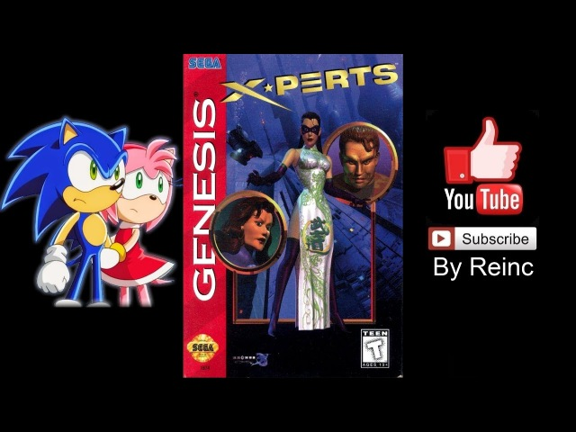 X Perts Sega 1996 Full Walkthrough By Reinc