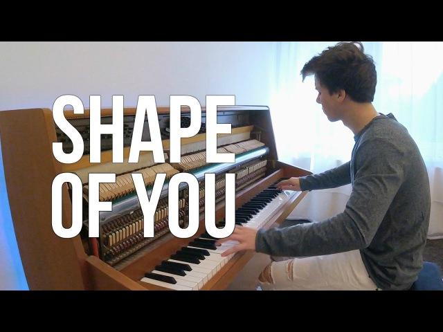 Ed Sheeran Shape of You Piano cover Peter Buka