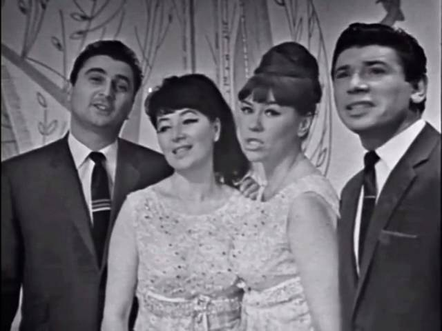 Вокальный квартет Аккорд Слушай весну 1968 муз Александра Кублинского ст Александра Дмоховского