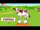 Животные - что едят животные - как разговаривают животные - для детей cartoon мульт