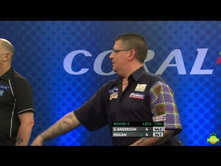 Gary Anderson vs Paul Hogan (Coral UK Open 2017 / Round 3)