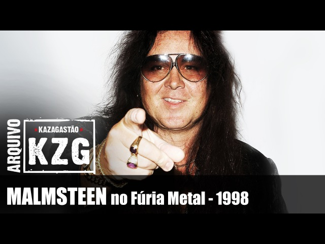 Arquivo KZG - YNGWIE MALMSTEEN no Fúria Metal (1998) - entrevistado por Gastão Moreira