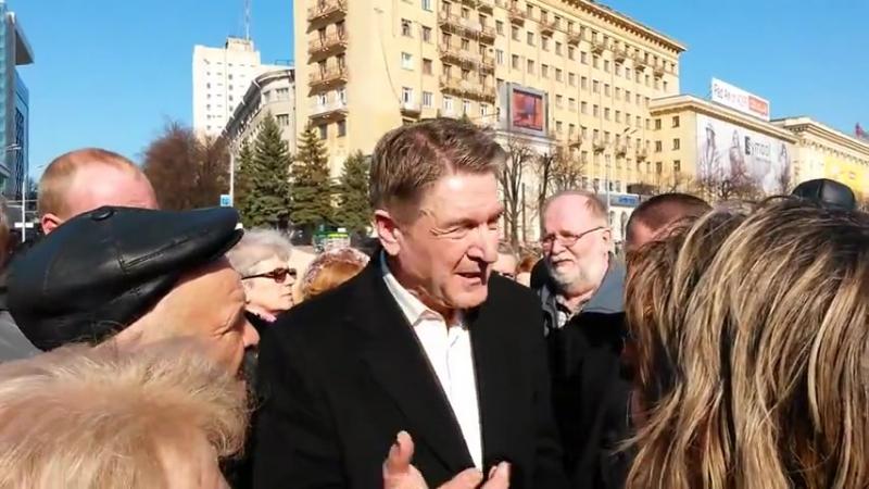 Игорь Массалов предлагает харьковчанам программу действий 22 марта 2014