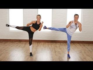 Katie Dunlop - Standing Abs Workout | Тренировка живота в положении стоя