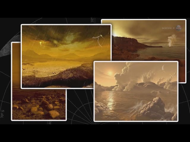 Озёра на Титане Без волн?