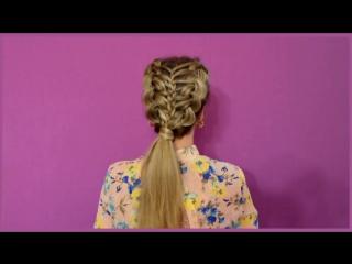 Две французские косы + колосок (sveta rash)