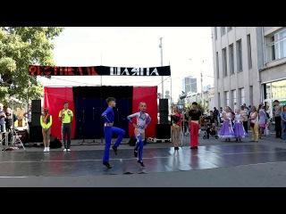 Акробатический рок-н-ролл. . Три дуэта. Площадь Ленина