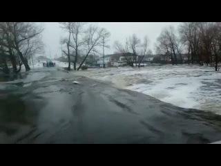 Половодье в Восточно-Казахстанской области (Казахстан, )