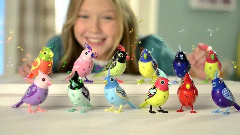 Интерактивные птички Мэлоди DigiBirds третьего поколения