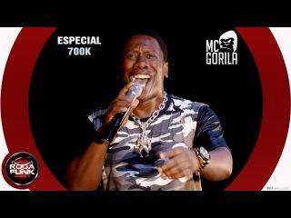MC Gorila : Ao vivo no palco da Roda de Funk – Vídeo Especial 700K – 18 anos