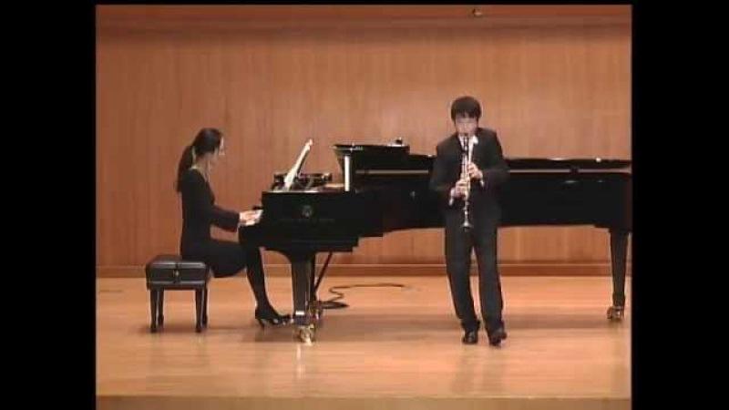 Han Kim and Woori Ko plays Fantasiestücke op 73 by R SCHUMANN
