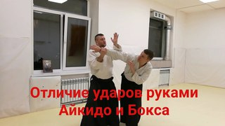 Aikido specialty punch of hands